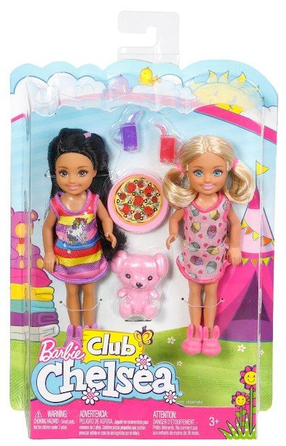 Barbie Club Chelsea Dolls Slumber Party Playset New Barbie Dolls Barbie Doll House Chelsea Doll