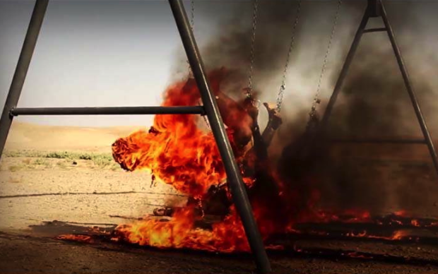 ISIS Stages Horrific Public Execution