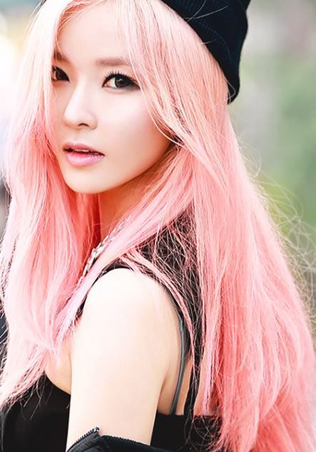 Gilme Pink Hair Girl Hair Colors Pink Hair Hair Color Asian