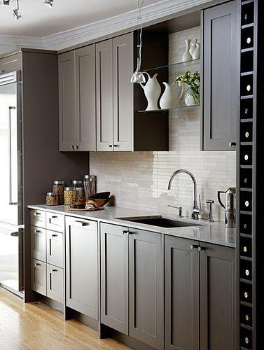 Sleek Modern Kitchen Design Modern Kitchen Shaker Kitchen Cabinets