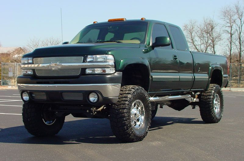 Lifted Chevrolet Silverado Truck Chevrolet Trucks Chevrolet
