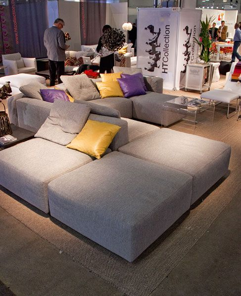 HT Collection gray couch