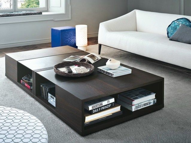 Amazing Low lacquered square coffee table CLASS Modern - Simple Elegant small square coffee table For Your House