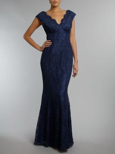 Ariella Fishtail Dress From House Of Fraser