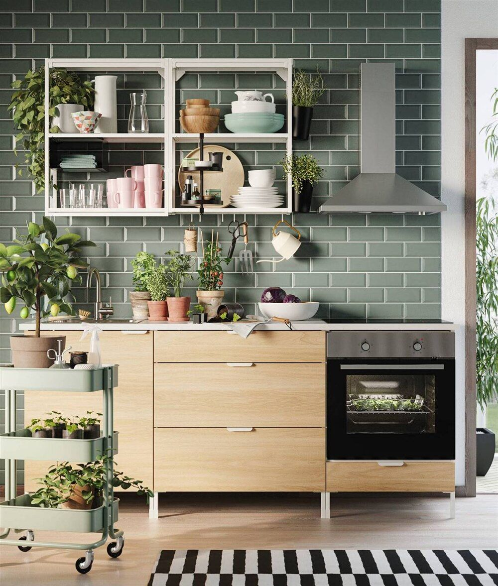 New Ikea Enhet Kitchen In 2020 Küchen Inspiration Küchendekoration Ikea Inspiration
