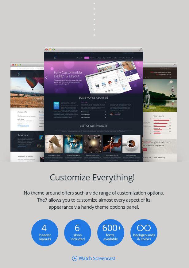 5 Best Selling Wordpress Themes at themeforest - Get Design | Dubai ...