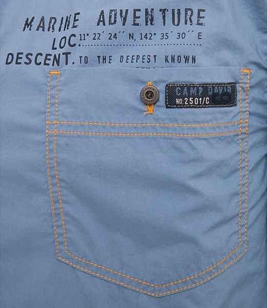 Camp David Langarmhemd Stickerei Kragenausputz Im Kontrast Online Kaufen In 2020 Casual Shirts For Men Men Shirt Style Mens Jeans Pockets