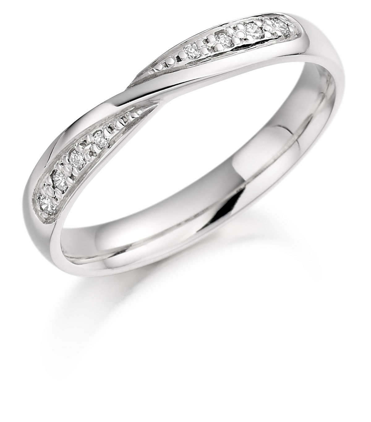 pave diamond twist wedding twisted infinity set m band bands p shane co rings