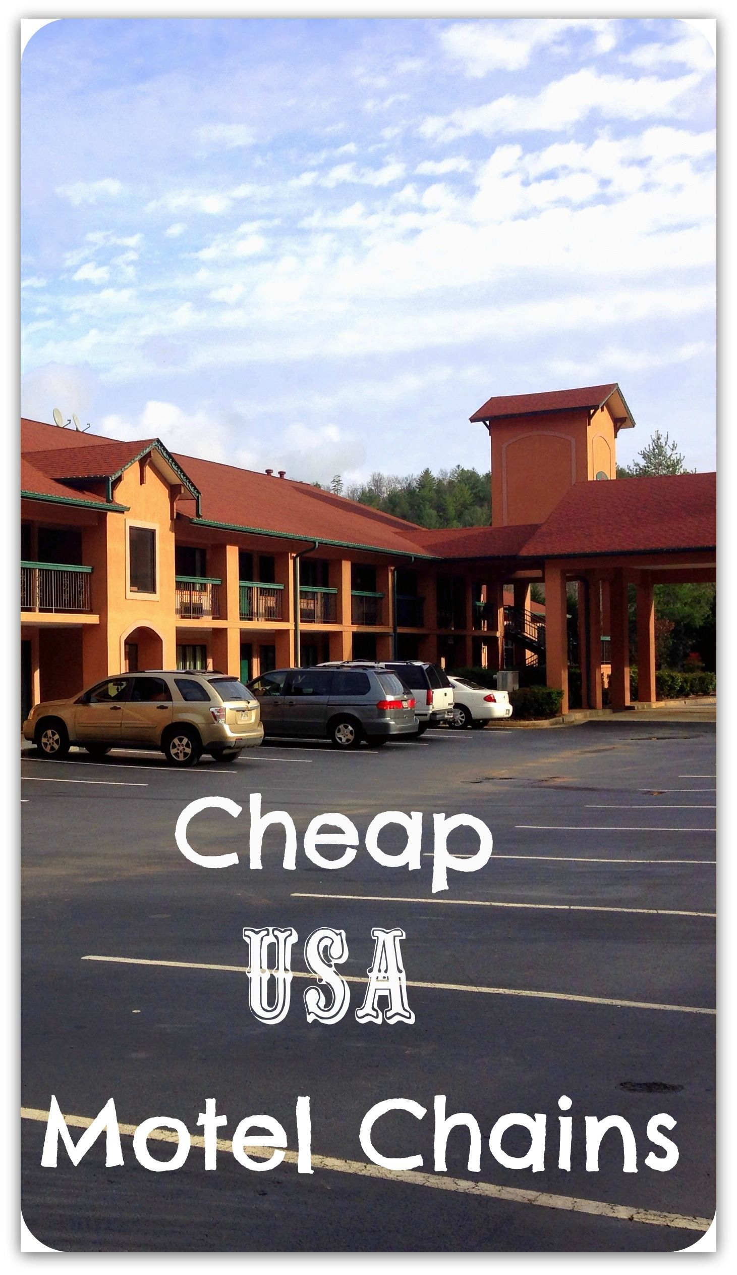 Cheap Motel Chains On Our USA Road Trip Cheap Motels Usa - Cheap vacations in usa