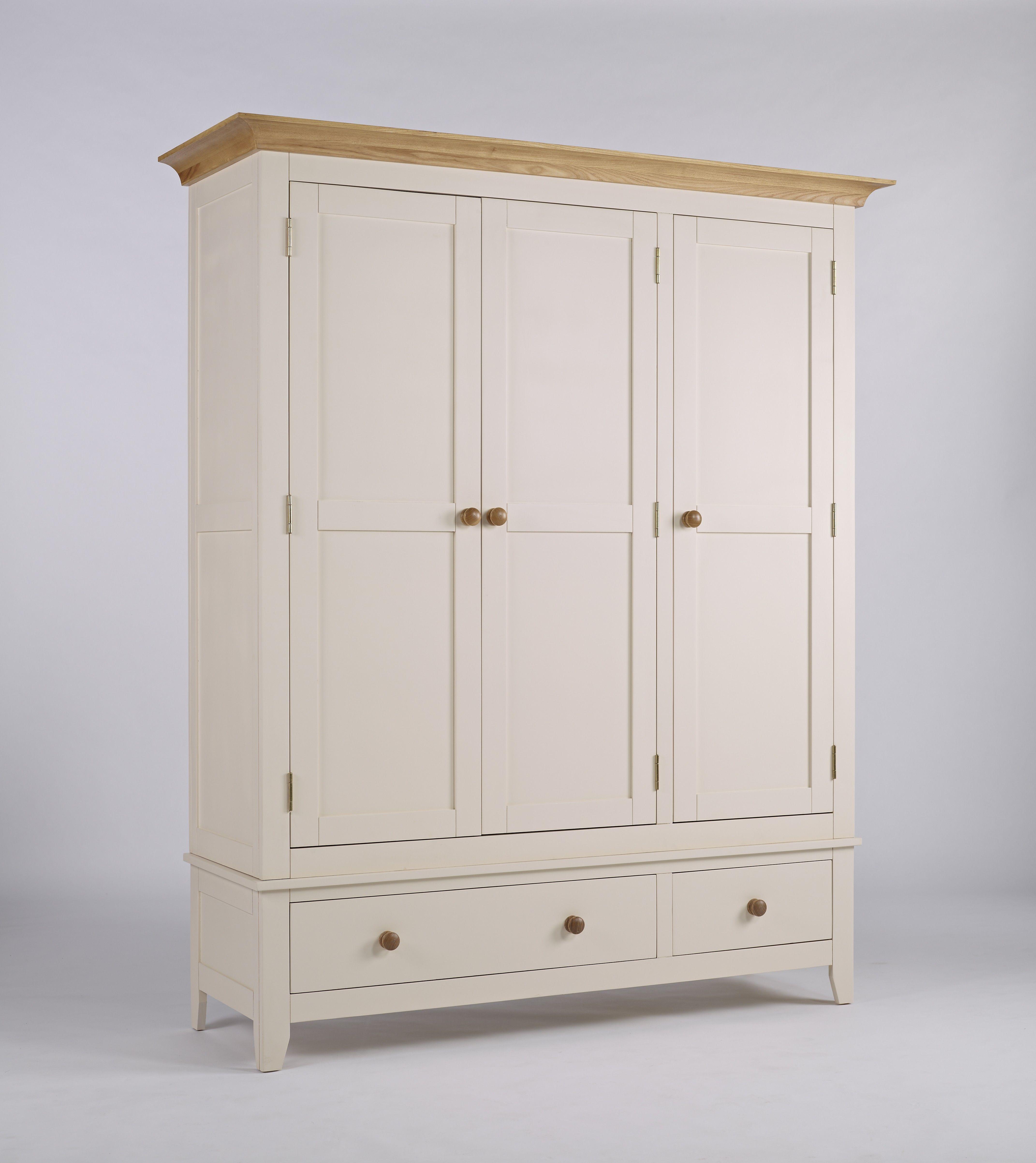 This Solid Camden Wardrobe 3 Door 2 Drawer With 3 Doors 2  # Mebe De Television