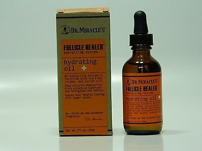 DR. MIRACLE'S FOLLICLE HEALER ENERGIZING SYSTEM HYDRATING OIL 2 OZ.