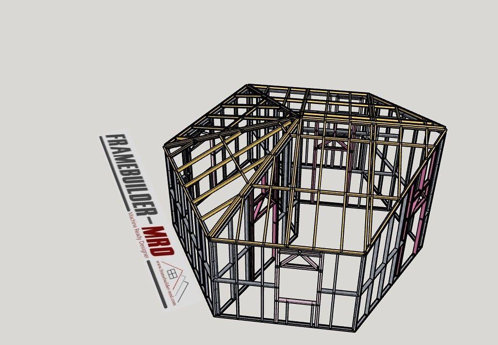 Designed in FrameBuilderMRD in 2020 Tiny house design