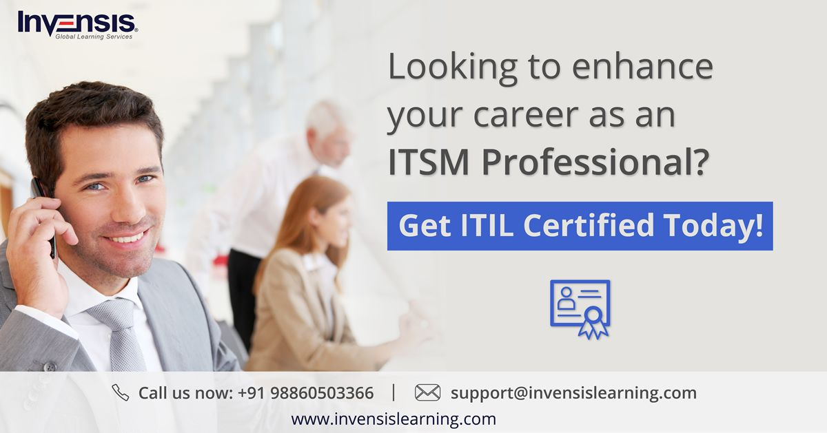 Enhance Your It Career With Invensislearning Itil Certification