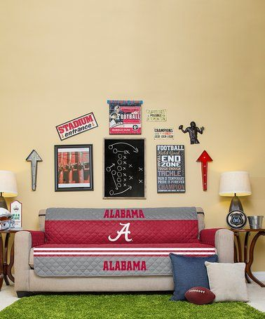 Look what I found on #zulily! Alabama Crimson Tide Reversible Sofa
