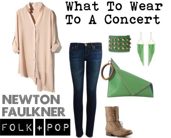 50f33da7c69 What To Wear To A Concert - Folk + Pop