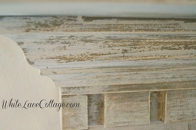 Create A Faux Patina Using Chalk And Milk Paint Anne P Makeup And More Painted Fireplace Mantels Milk Paint Paint Fireplace