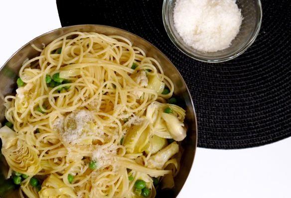 Lemon-Artichoke Pasta