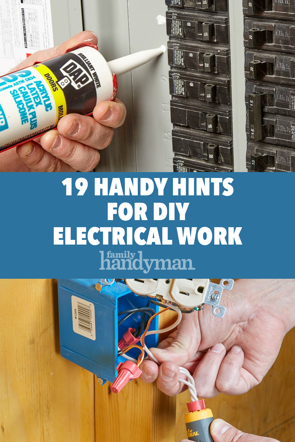 19 Handy Hints For Diy Electrical Work Diy Electrical Electrical Work Electricity