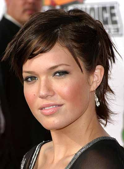 Short Hairstyles For Round Faces Glamorous Short Tousled Hairstyles For Round Faces  Short Hairstyle