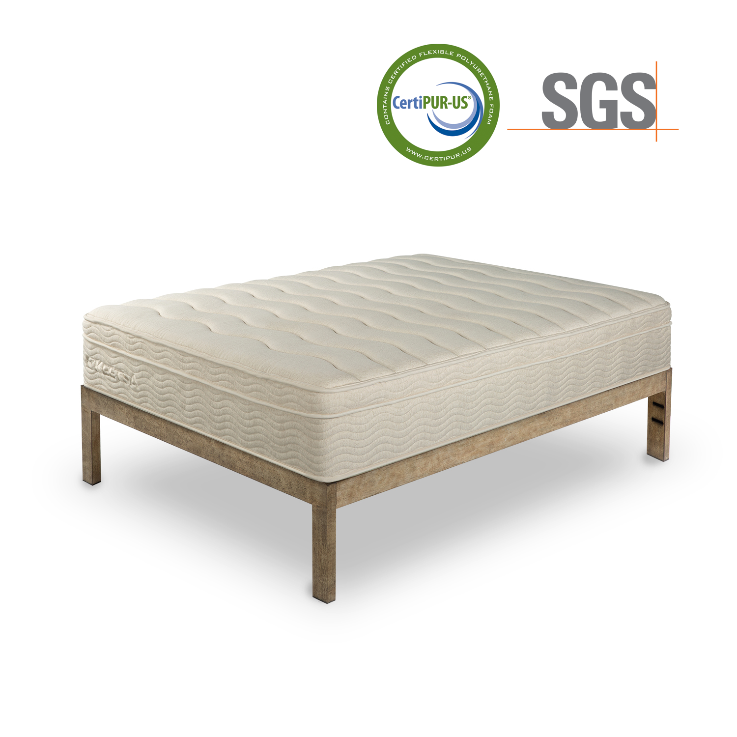 avocado green mattress made with 100 natural latex 100 jomaa new