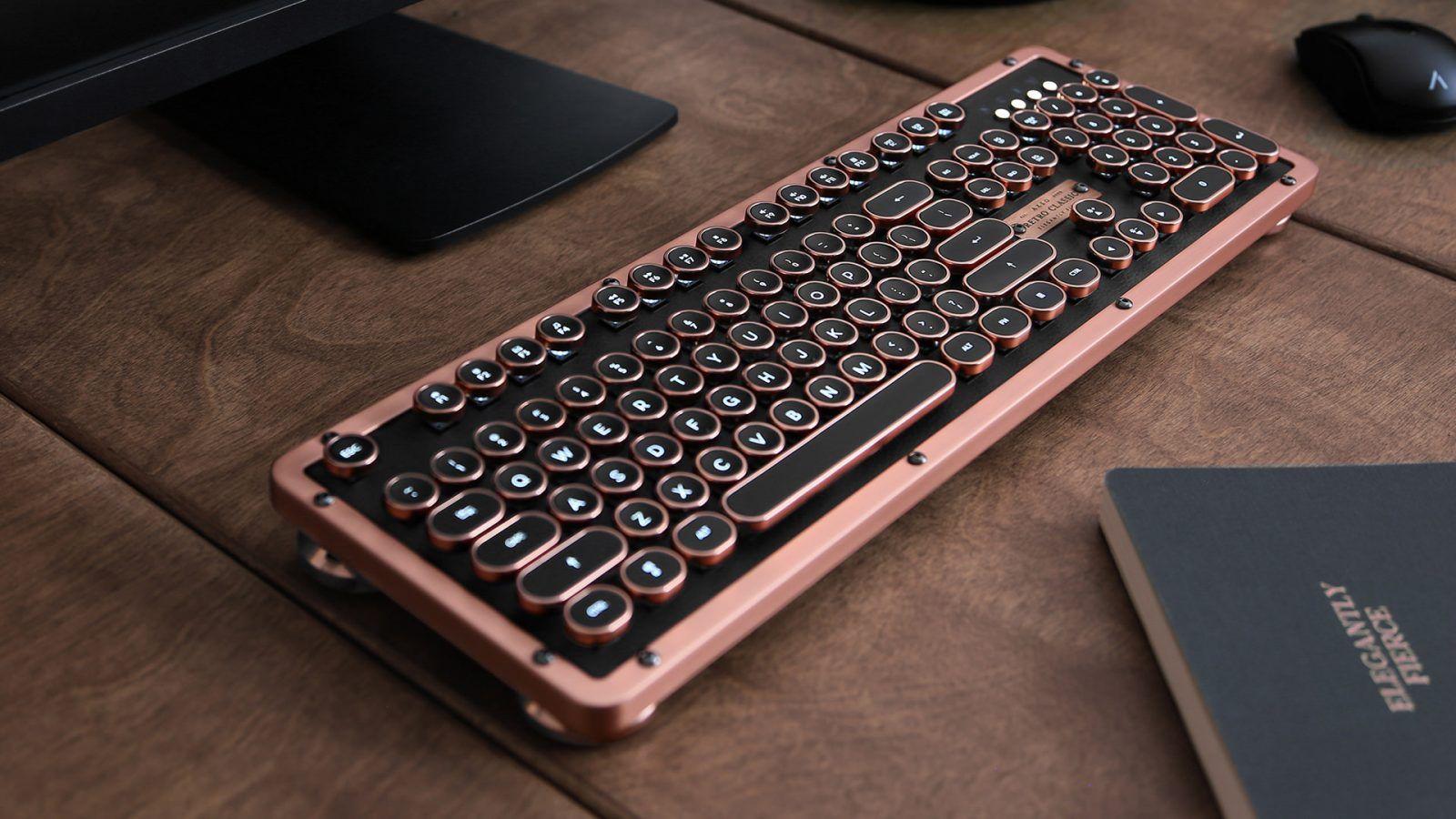 Azio Retro Classic The Traditional Mechanical Computer Keyboard In 2020 Keyboard Computer Computer Keyboard