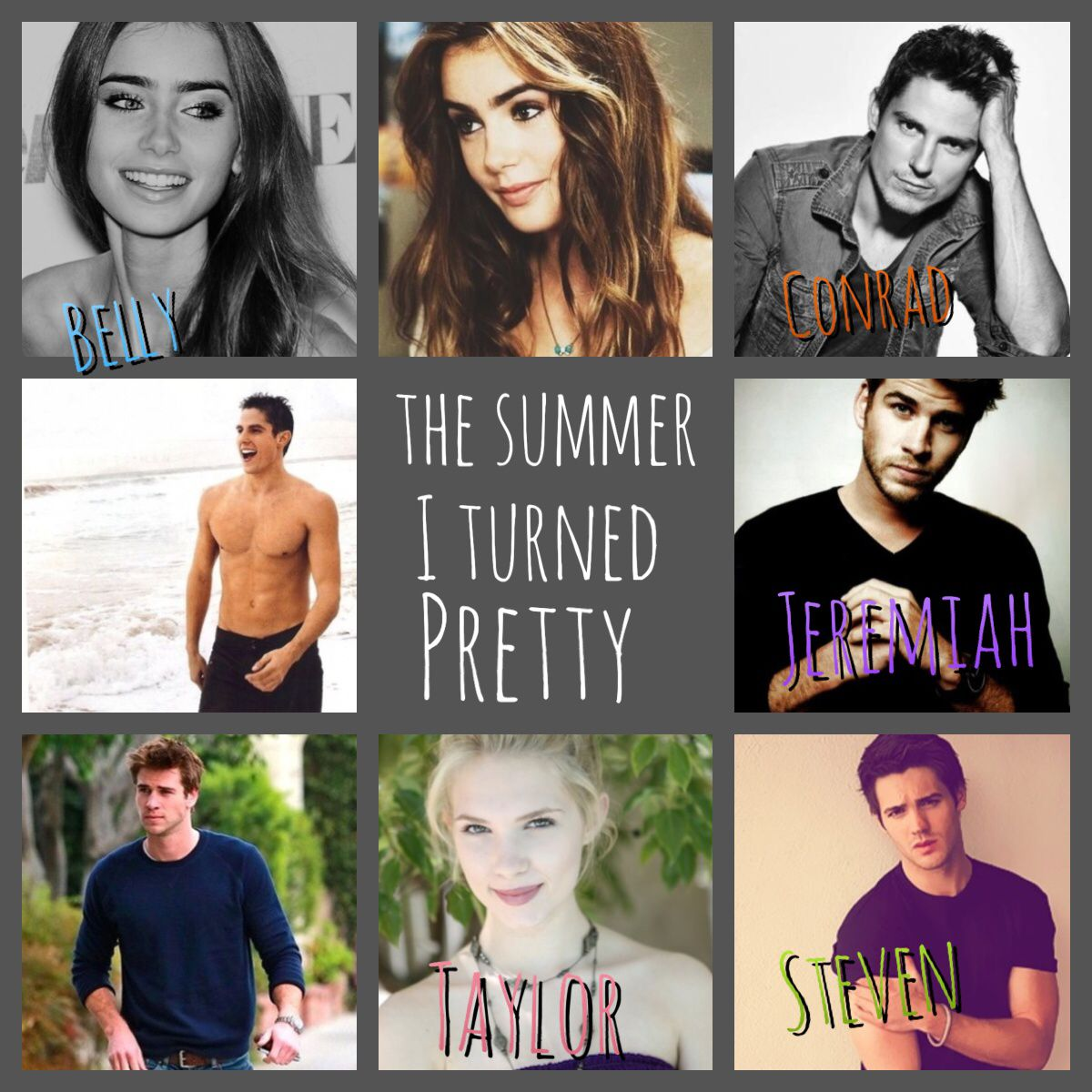 """My """"the summer I turned pretty"""" dream cast The summer i"""