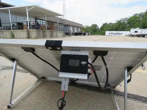 Go Power Portable Solar System With Digital Solar Controller 130 Watt Solar Panel Go Power Rv Sola Rv Solar Panels Solar Panels Best Solar Panels