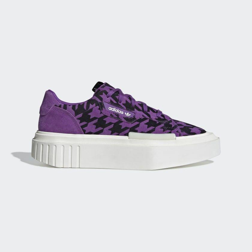 adidas Hypersleek Shoes Active Purple Womens   Adidas