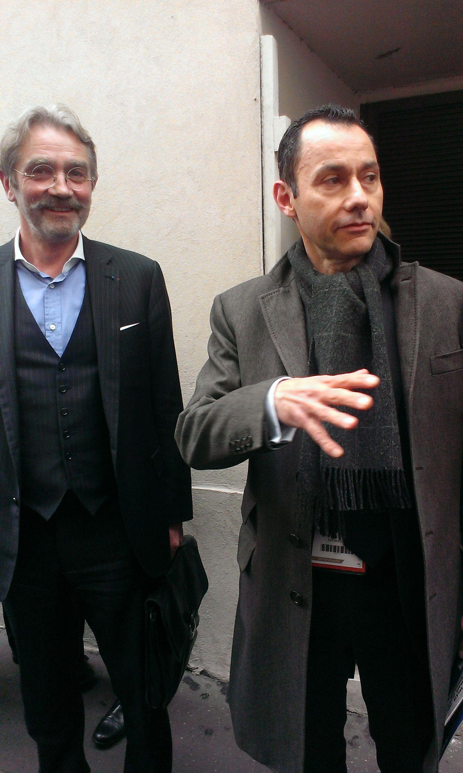 Fin de Meeting Sporsora : Paris 2013...merci la CGT.
