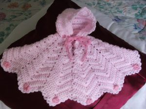 Free Baby Crochet Patterns For Beginners To Advaced #babyponcho