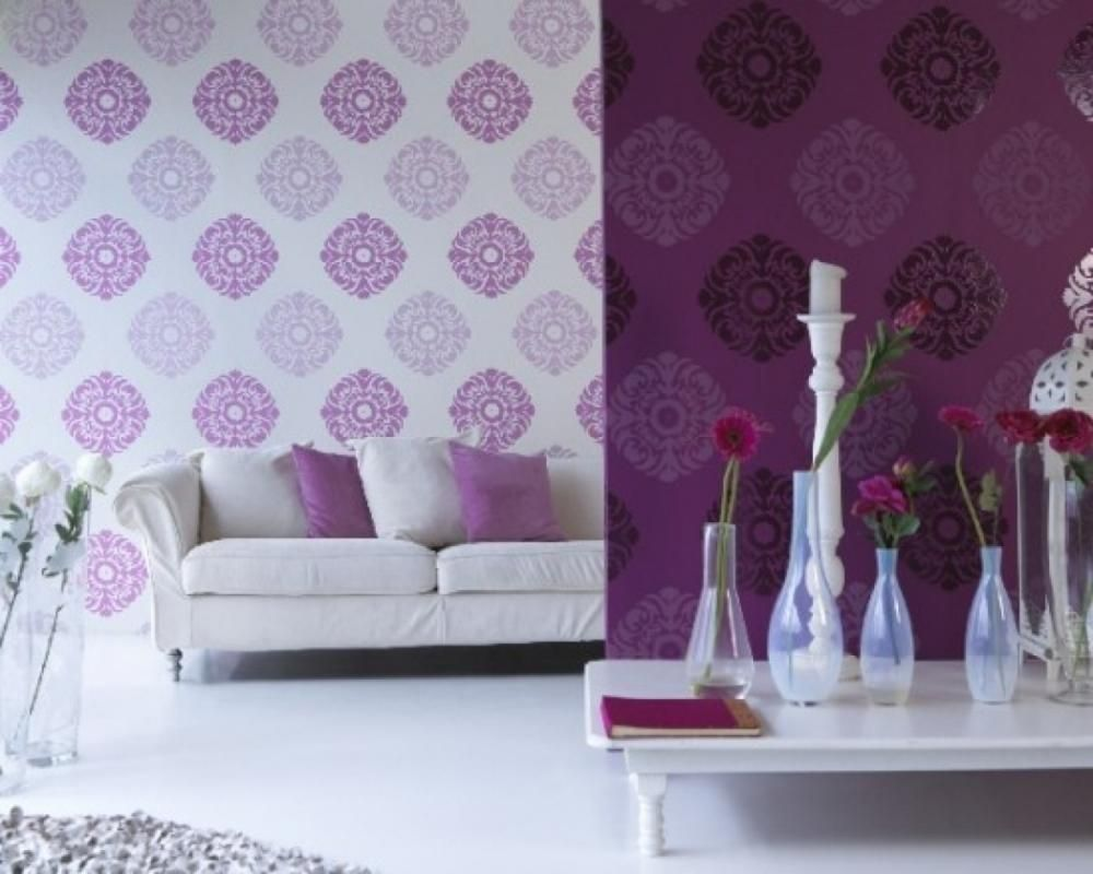 10 Crazy Ideas For Your Home Homemajestic Purple Living Room Wallpaper Living Room Living Room Decor Purple