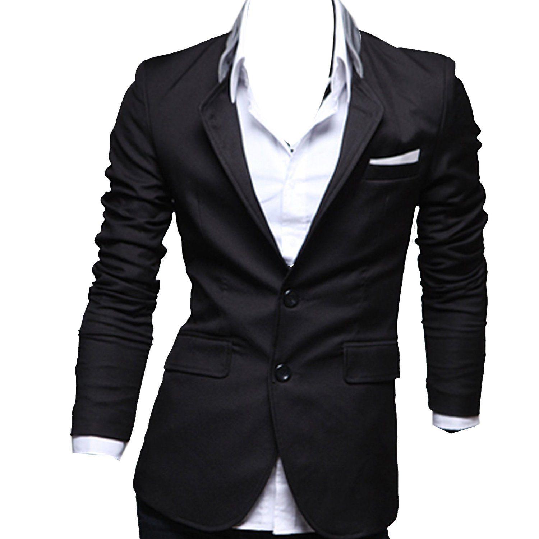 Zeagoo Menu0026#39;s Casual Dress Slim Fit Stylish Suit Blazer Coats Jackets. Price$25.69 - $29.69 ...