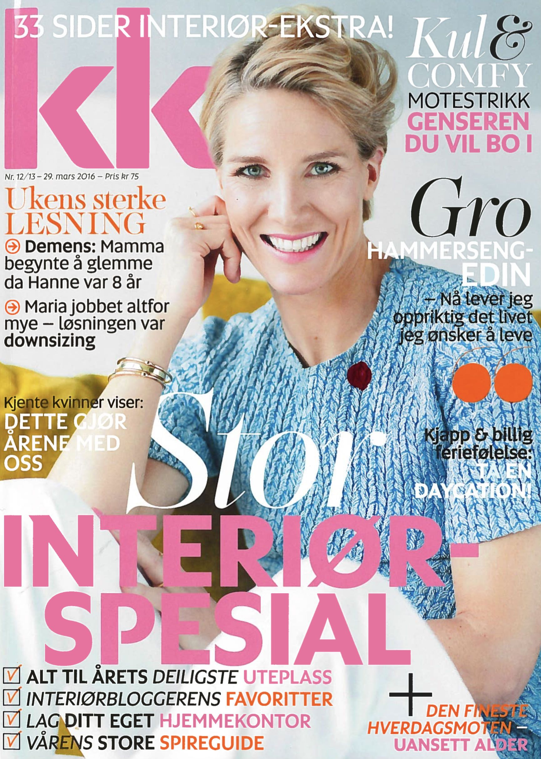 Norwegian KK magazine presents classic and cool styling in their ...
