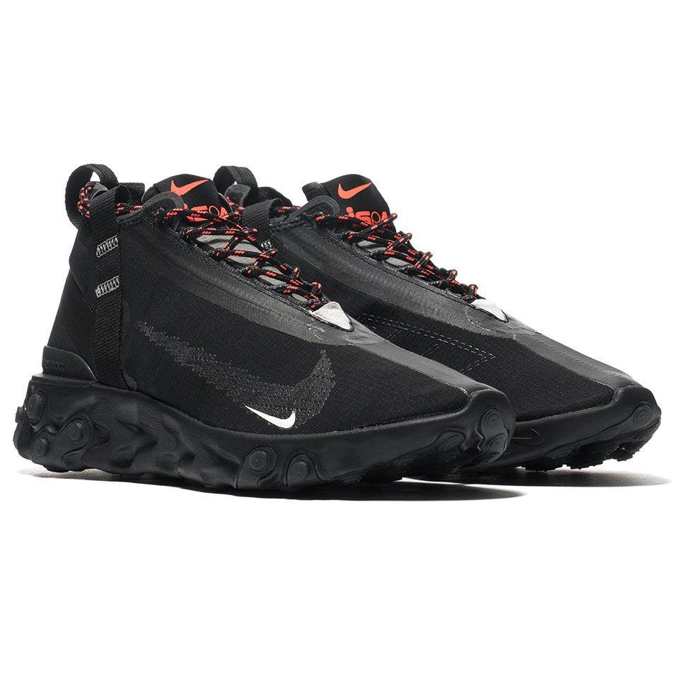 Patrocinar hospital ambiente  The Nike React Runner is a Comfortable Waterproof Running Shoe | Waterproof  running shoes, Mens nike shoes, Nike air shoes