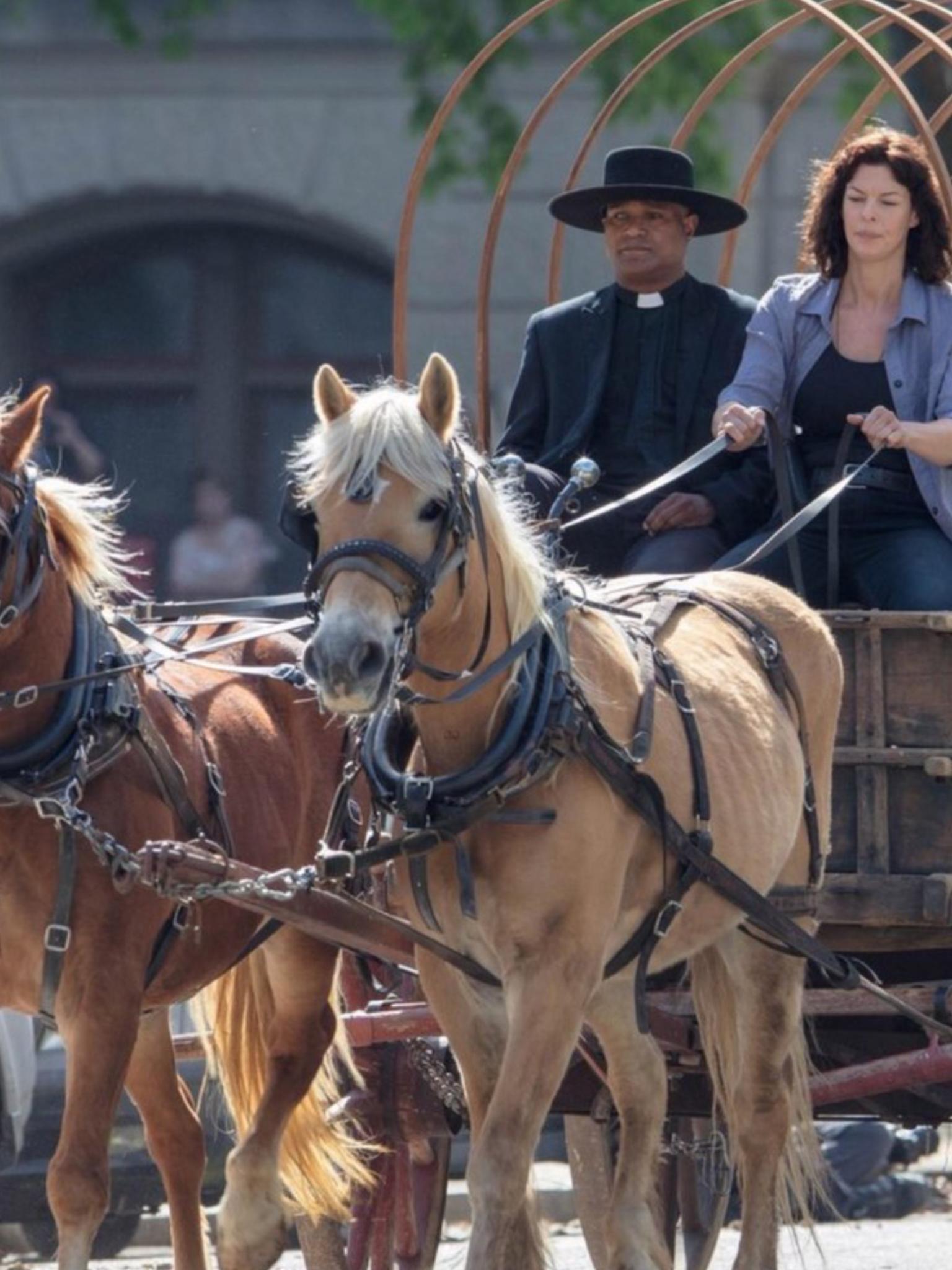 Behind the Scenes of The Walking Dead Season 9 Walking Dead Season 9, Fear  The
