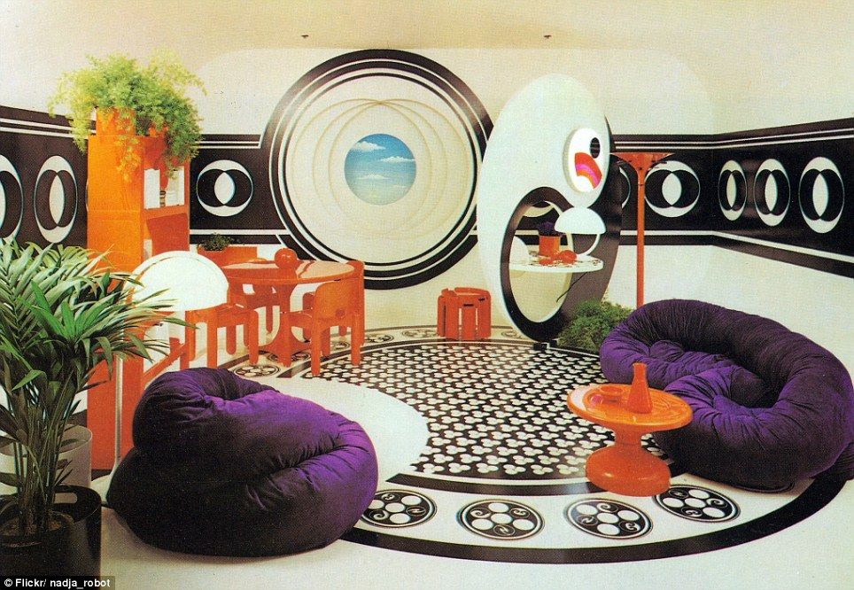 austin interior design - Psychedelic, he sixties and oom set on Pinterest