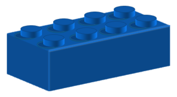 Blue Lego Brick Clip Art Childrens Toy Wallpaper Brick Clips Lego Brick Clip Art