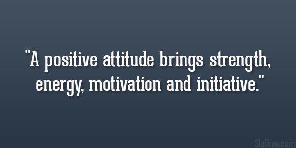 Enlightone: Positive Attitude Brings Strength