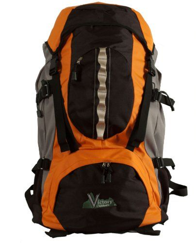 Victory Outdoors Cross Country 60Liter Backpack Orange >>> You can find out more details at the link of the image.