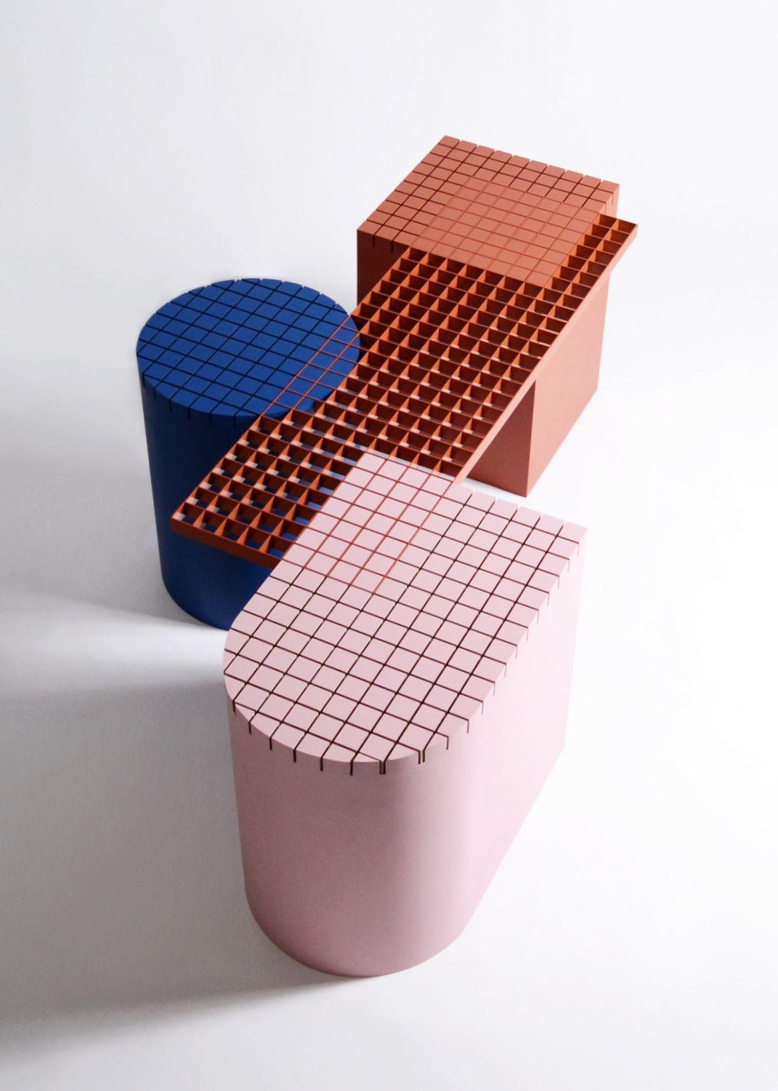 nortstudio⎪bench urban shapes #furnitureaccessories