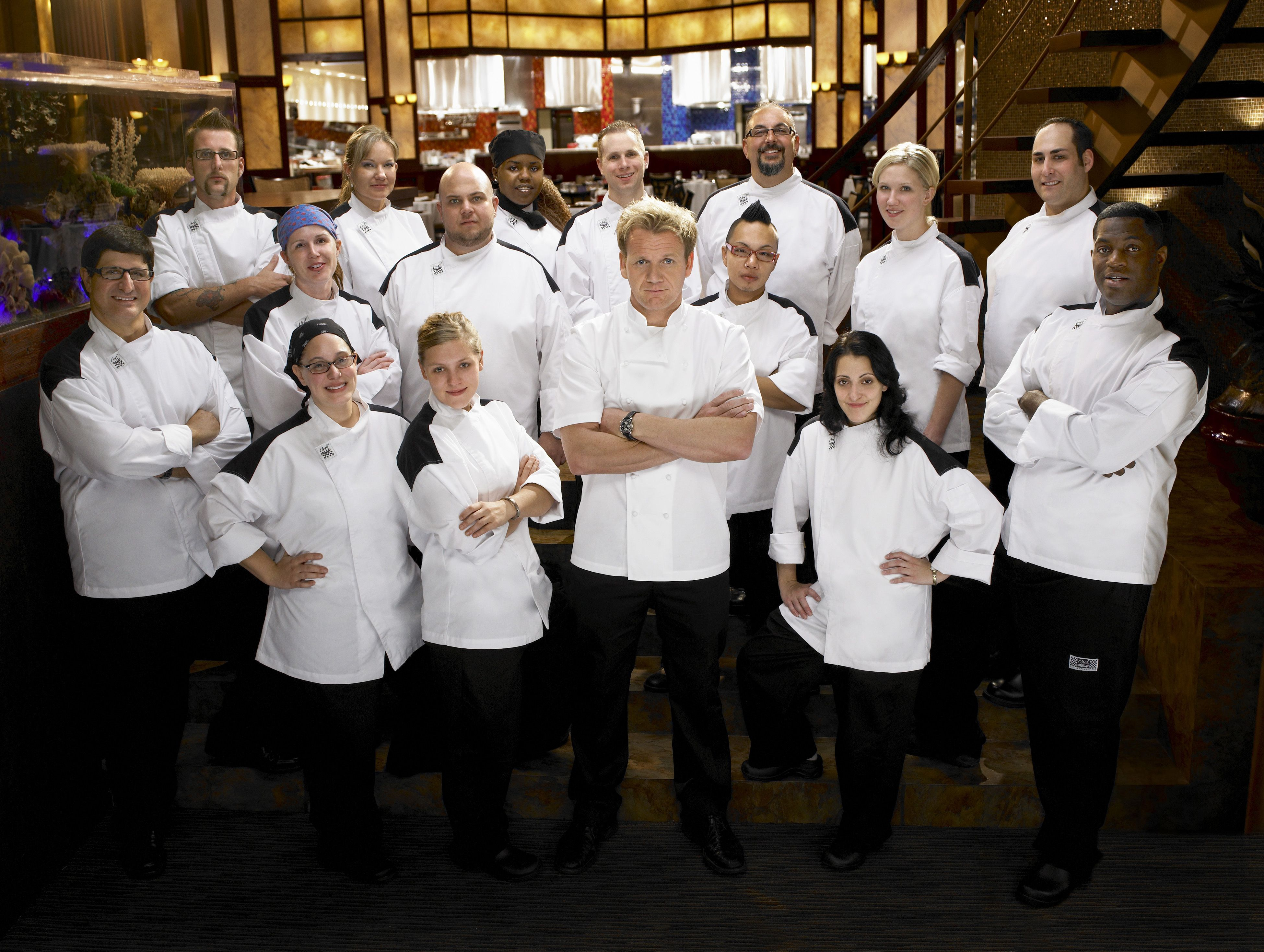 hells kitchen many people didnt expect christina to be the last one - Hells Kitchen Season 1 Episode 1
