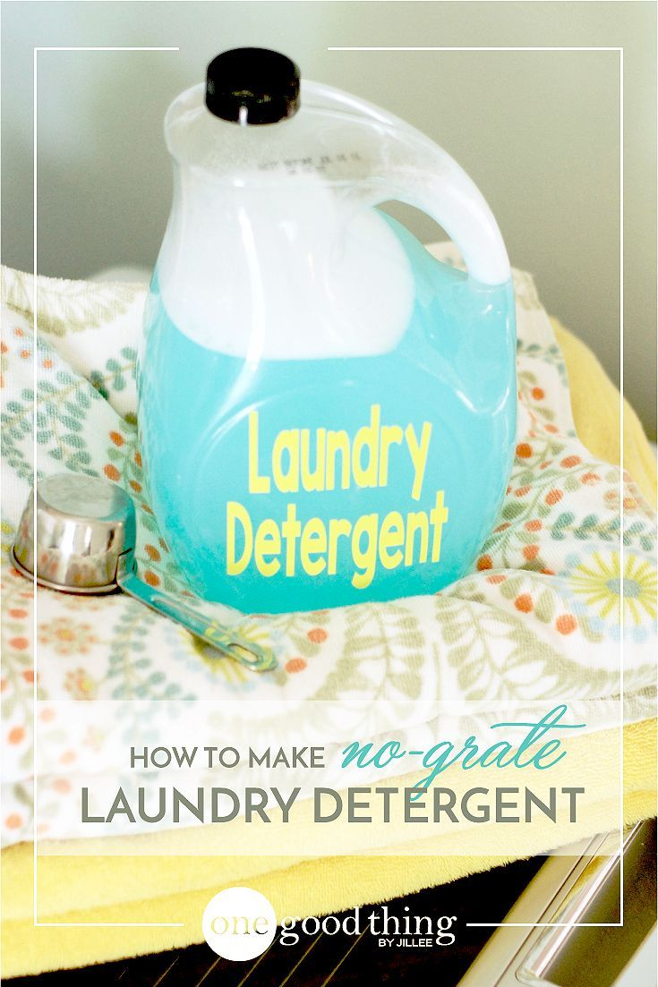 How To Make Your Own No Grate Liquid Laundry Detergent Laundry