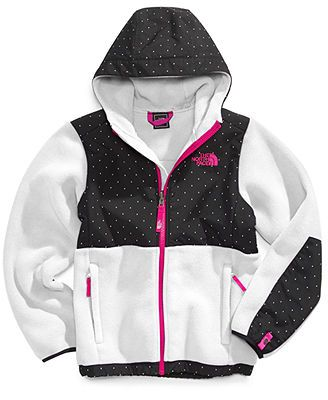 62cf26e8a7919 The North Face Kids Jacket, Girls Denali Hooded Jacket | Fashion ...