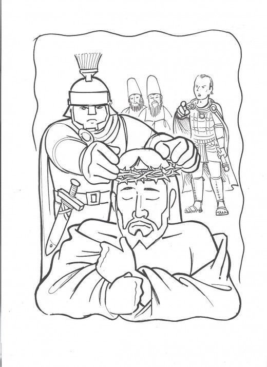 Jesus Arrested Coloring Page Google Search Jesus Coloring