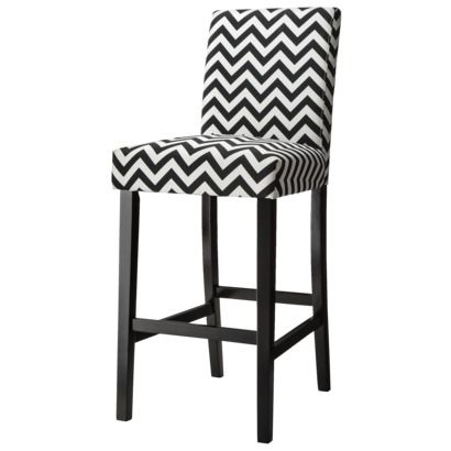 Black And White Chevron Barstool From Target For $80   LOVE It! #homedecor  #decorating #home