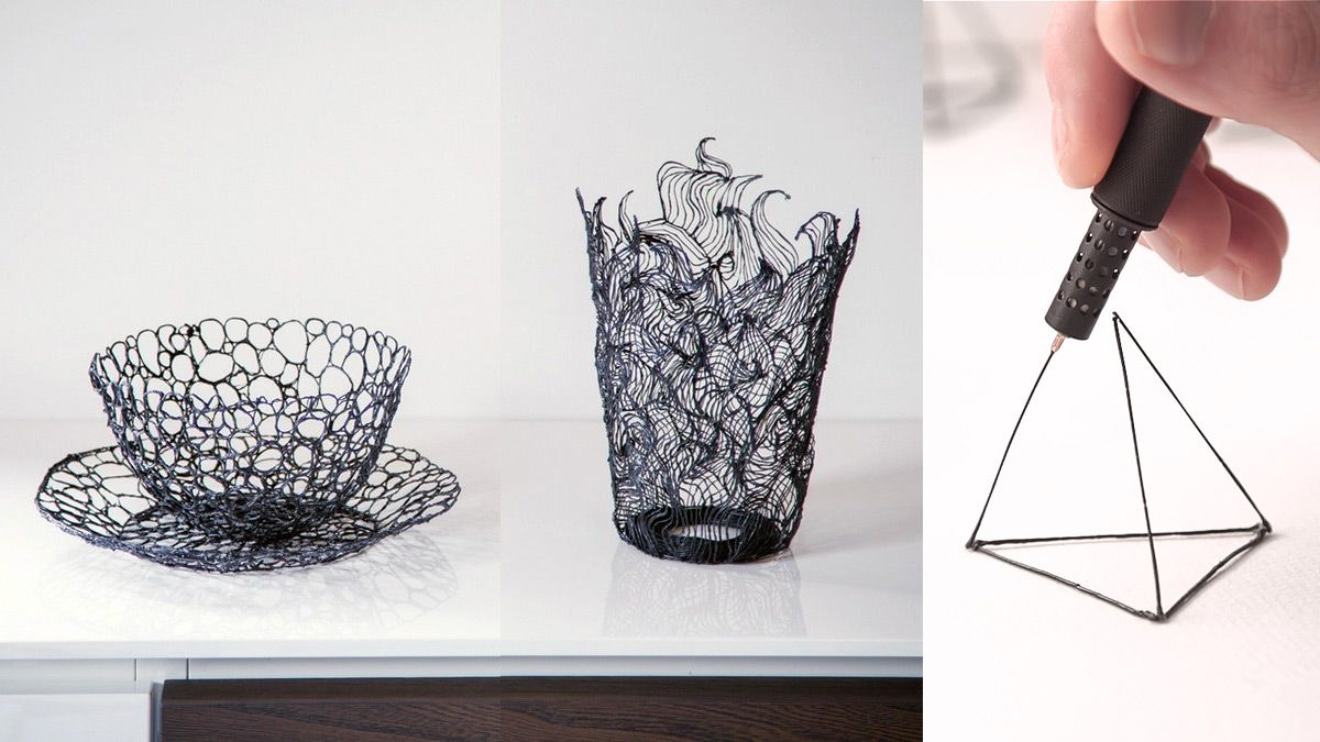 The 'LIX' is the world's smallest 3D printing pen that