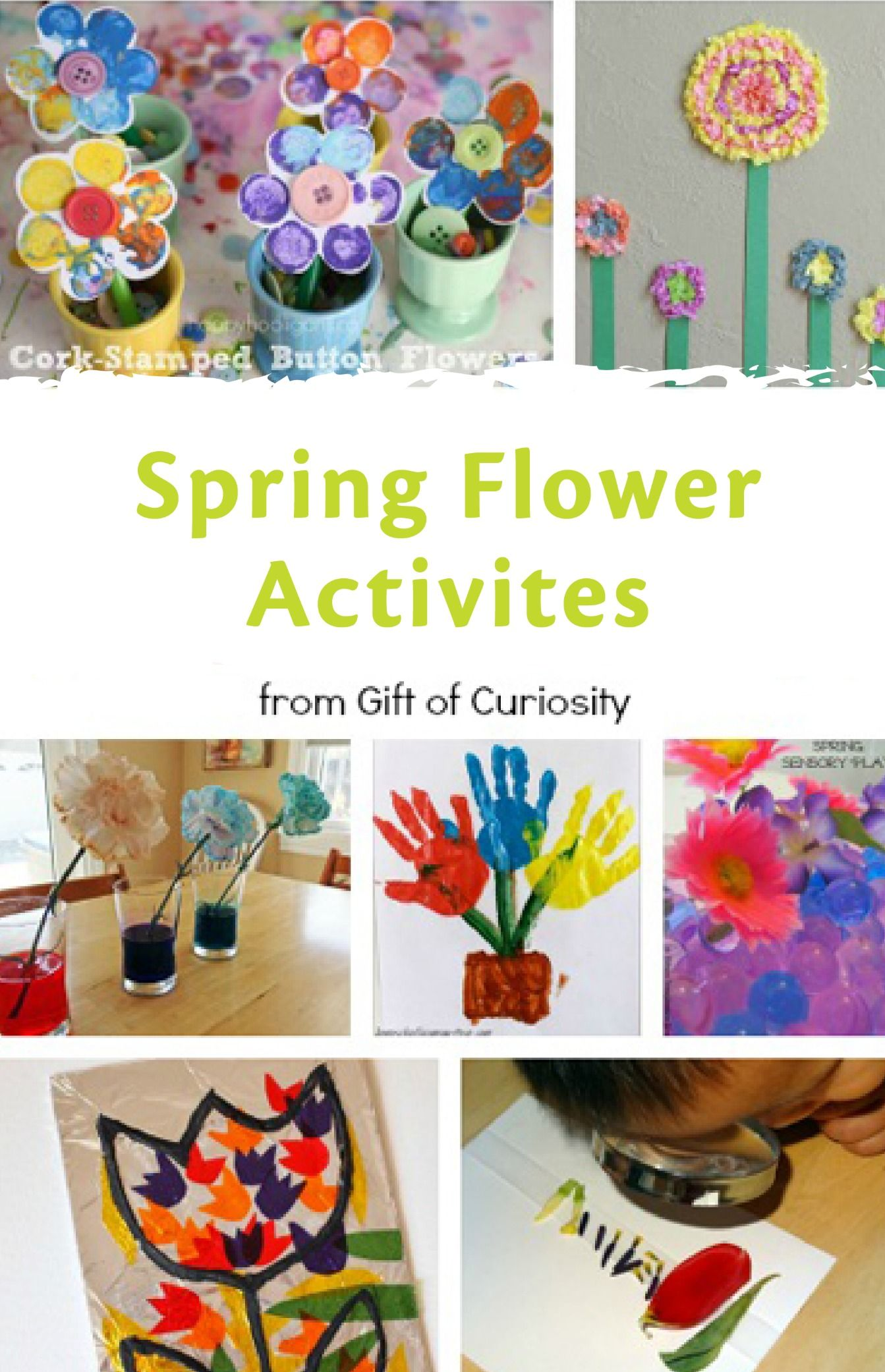 8 Spring Flower Activities For Kids Kid Crafts For Spring