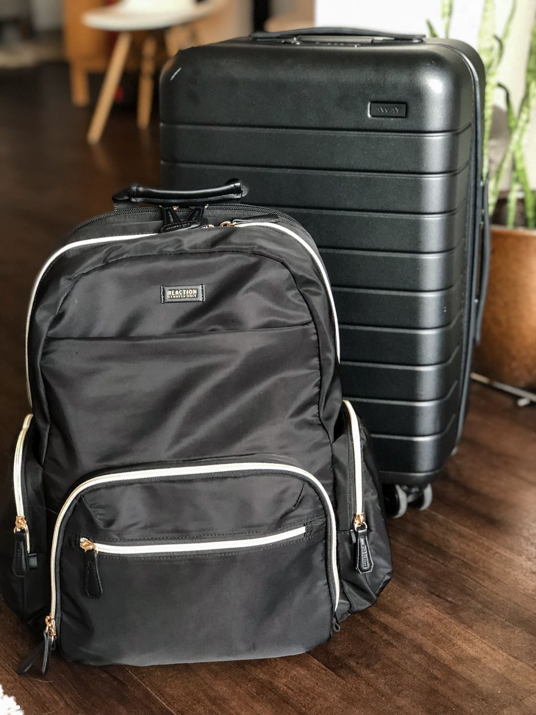 away carry-on suitcase & travel backpack review | wanderlust