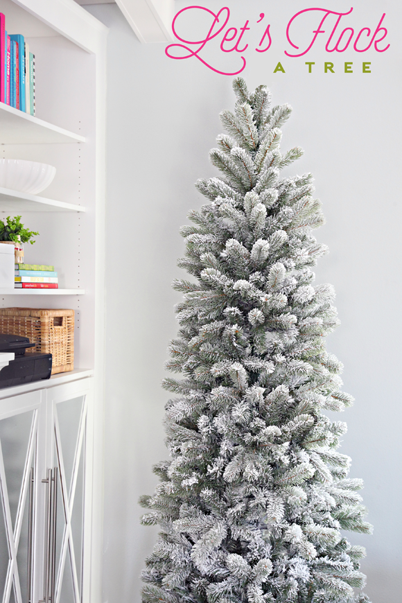 27 How To Flock a Tree (or anything really) Frosted