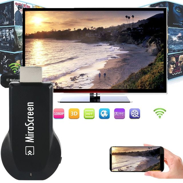 Wireless Wifi HDMI Dongle Airplay to TV HDMI Adapter For